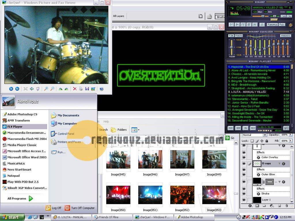 My Desktop by rendivouz