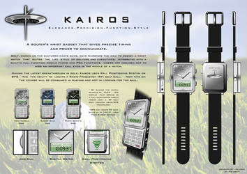 Khronos Kairos Wrist Phone by mac09ares