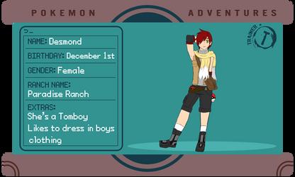 [PKMN-Adventures APP] Desmond Diaz