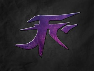 JFC Logo Purple on Black Texture by YTRTHNU