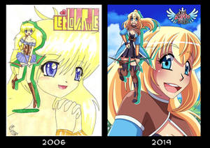 10+ year challange! I know I'm late but Oh well x)