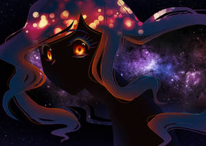 Black hole-chan says Hello~