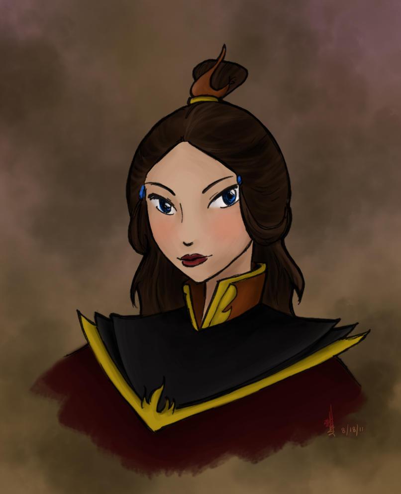 Fire Lady Katara by zutaraxmylove