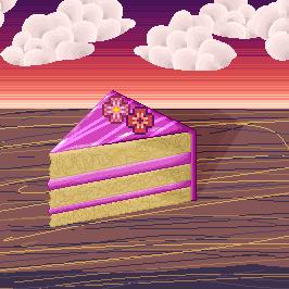 Pixel - Cake by Dakaido