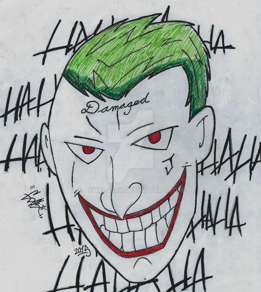 Suicide Squad Joker by j2waldeck