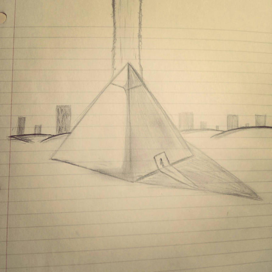 Pyramid of Transcendence  by j2waldeck