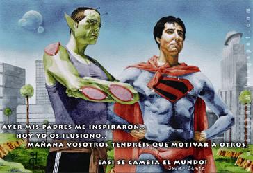 Picolo y Superman by Alsbram