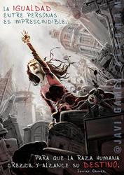 Mujer luchadora by Alsbram