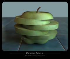Sliced Apple by chris51888
