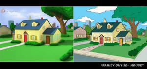 Family Guy House 3D Recreation