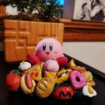 Kirby Amiibo Stand! by DizzyDizzy