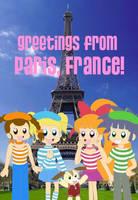 Powerpuff Girls Z in Paris by Angel-Sweetheart