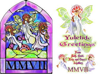 Lindberg Holiday Card 2007