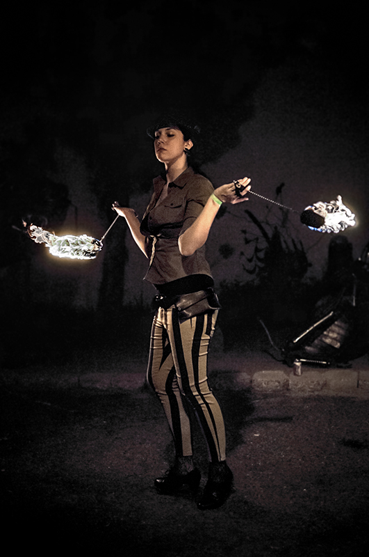 The Fire Dancer by 1