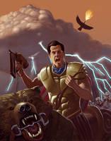 The Conqueror Nailed em by jokoso