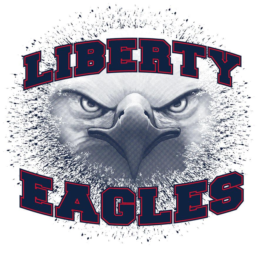 T Shirt Artwork for Liberty Eagle Spirit Wear by jokoso