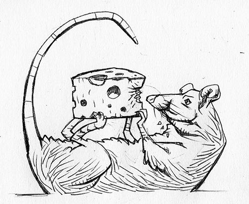 Rat Drawlloween by jokoso