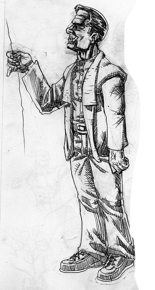 Frankenstein Drawlloween by jokoso