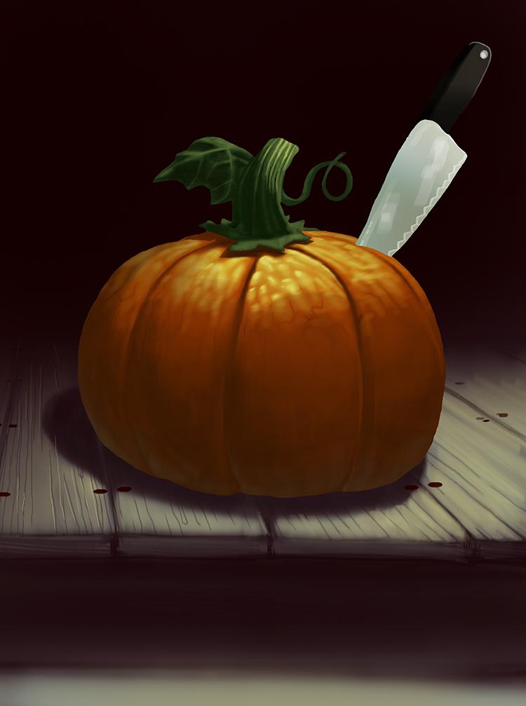 Pumpkin Drawlloween Color by jokoso