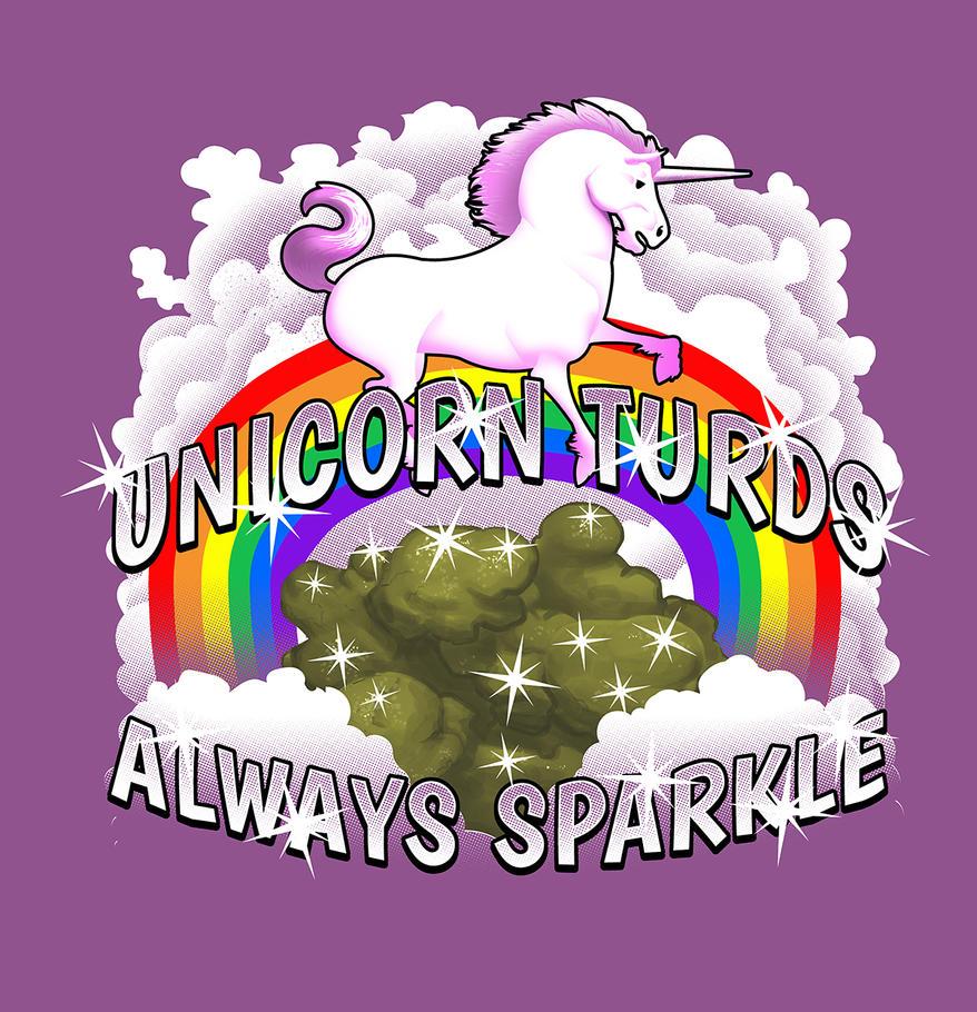 Unicorn Turds Always Sparkle by jokoso