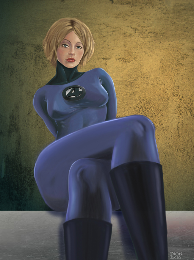 Invisible Woman by glennsapien on DeviantArt