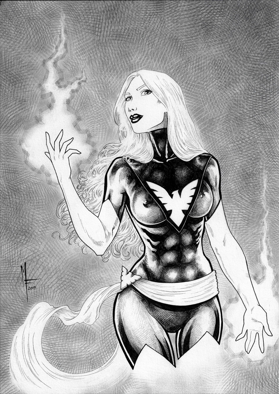 Jean grey - phoenix - marvel