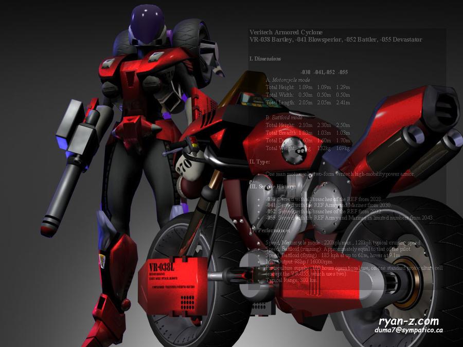 39 rook bartley 39 biker babe by ryanz720 on deviantart - Wallpapers robotech 3d ...