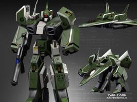 Robotech Alpha fighter by RyanZ720