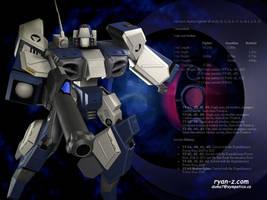 Robotech Alpha Scott Bernard by RyanZ720
