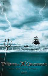 Dead Men Tell No Tales Fan-Made Poster by Alex521Guri