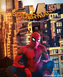 SpiderMan Homecoming Digital|FanMade|Art by Alex521Guri