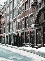 Snowed City Block - FanArt by Alex521Guri