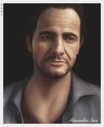 Samuel ' Morgan' Drake | Portrait by Alex521Guri