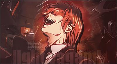Yagami Light sig. by deeviluke