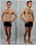 Male Arms on Hips Standing Pose