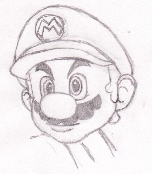 Mario Sketch By Supermario228 On DeviantArt