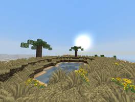 Minecraft - Oase by TheSmallBlueBlock