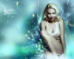 Scarlett Johansson Wallpaper by Pilot3