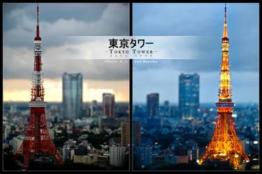 Twilight at Tokyo Tower