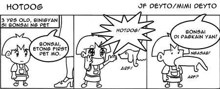 Hotdog and I (issue 1) by popejohnfreddxiii