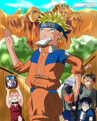 Naruto with team 7