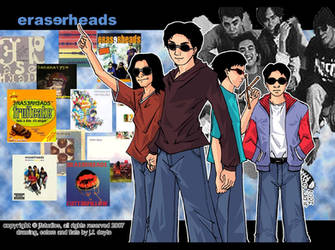 eraserheads toons by popejohnfreddxiii