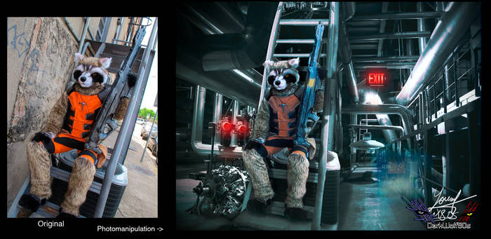 Rocket Raccoon Guardians of the Galaxy Concept
