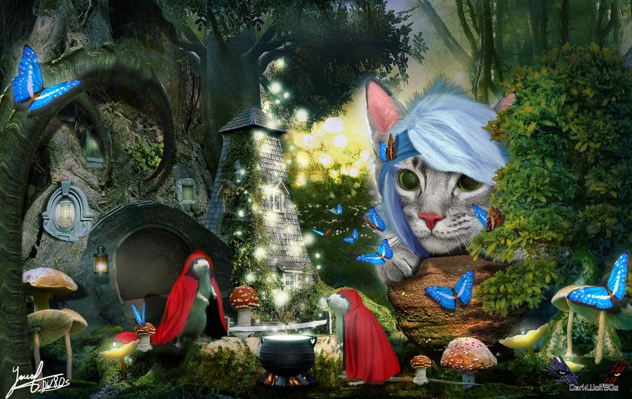 A GreyKitty Fairy Tale Story