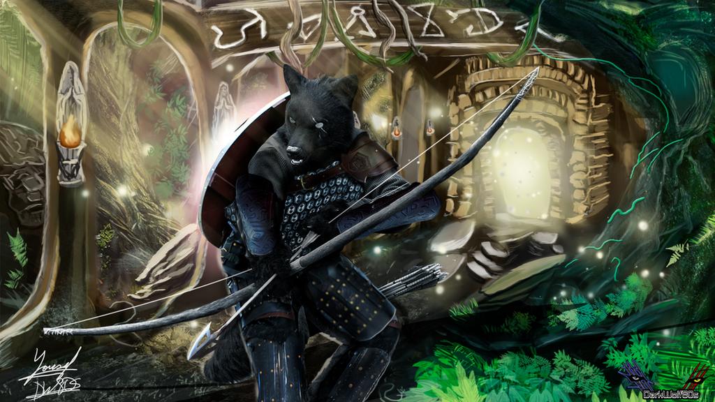 Enter the Hunter by DarkWolf80s