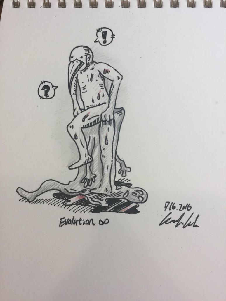 shedding human  by ikuhrus