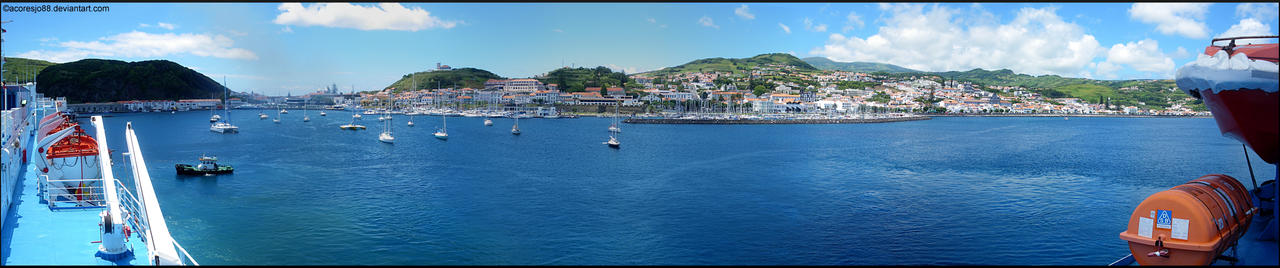 Horta Bay by acoresjo88
