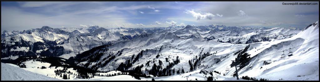 Damuels mountains