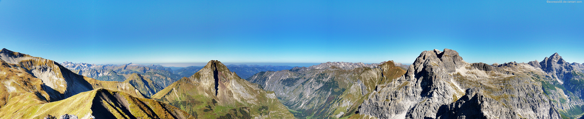 Allgaeu Alps panoramic 4 by acoresjo88