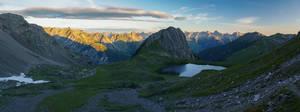 First sunlight on lake Kogelsee by acoresjo88